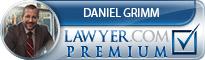 Daniel John Grimm  Lawyer Badge