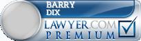 Barry Douglas Dix  Lawyer Badge