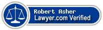 Robert Michael Asher  Lawyer Badge