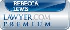 Rebecca A. Lewis  Lawyer Badge