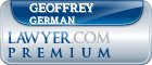 Geoffrey Robert German  Lawyer Badge