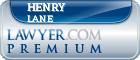 Henry J. Lane  Lawyer Badge