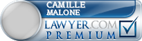 Camille Malone  Lawyer Badge