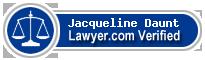 Jacqueline Ann Daunt  Lawyer Badge