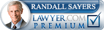 Randall W Sayers  Lawyer Badge