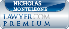 Nicholas J. Monteleone  Lawyer Badge