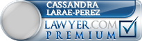 Cassandra C. Larae-Perez  Lawyer Badge