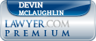 Devin McLaughlin  Lawyer Badge