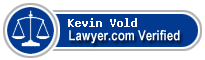 Kevin Lee Vold  Lawyer Badge