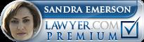 Sandra Margaret Emerson  Lawyer Badge