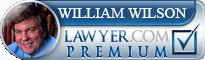 William S. Wilson  Lawyer Badge