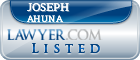 Joseph Ahuna Lawyer Badge