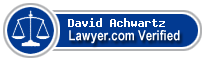 David M. Achwartz  Lawyer Badge