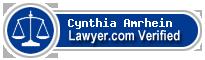 Cynthia Rose Amrhein  Lawyer Badge