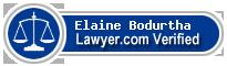 Elaine T. Bodurtha  Lawyer Badge