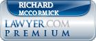 Richard Edward McCormick  Lawyer Badge