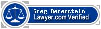 Greg Lawrence Berenstein  Lawyer Badge