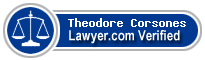 Theodore Turck Corsones  Lawyer Badge