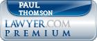 Paul R. Thomson  Lawyer Badge