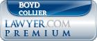 Boyd F. Collier  Lawyer Badge