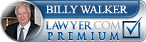 Billy William P. Walker  Lawyer Badge