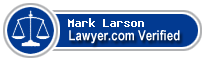 Mark Larson  Lawyer Badge