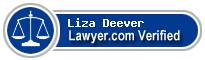 Liza M. Deever  Lawyer Badge