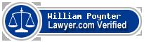 William Poynter  Lawyer Badge