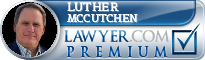 Luther O. McCutchen  Lawyer Badge