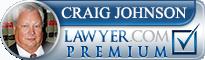 Craig E. Johnson  Lawyer Badge