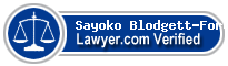 Sayoko Jean Blodgett-Ford  Lawyer Badge