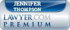 Jennifer F. Thompson  Lawyer Badge