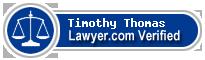 Timothy L. Thomas  Lawyer Badge