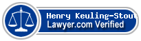 Henry Smith Keuling-Stout  Lawyer Badge