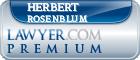 Herbert S. Rosenblum  Lawyer Badge