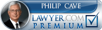 Philip Douglas Cave  Lawyer Badge
