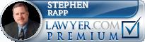 Stephen Patrick Rapp  Lawyer Badge