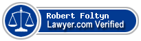 Robert Joseph Foltyn  Lawyer Badge