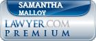 Samantha Dushane Malloy  Lawyer Badge