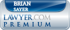 Brian G. Sayer  Lawyer Badge