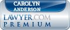 Carolyn Alicia Anderson  Lawyer Badge
