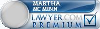 Martha M. Mc Minn  Lawyer Badge