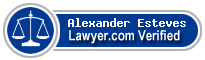 Alexander M. Esteves  Lawyer Badge