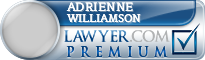 Adrienne Claire Williamson  Lawyer Badge
