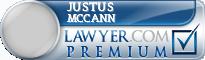 Justus Thomas Mccann  Lawyer Badge