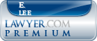E. Scott Lee  Lawyer Badge