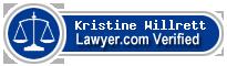 Kristine Kay Willrett  Lawyer Badge