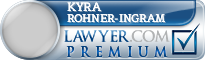 Kyra Kay Rohner-Ingram  Lawyer Badge