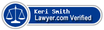 Keri Jo Smith  Lawyer Badge