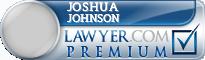Joshua David Johnson  Lawyer Badge
